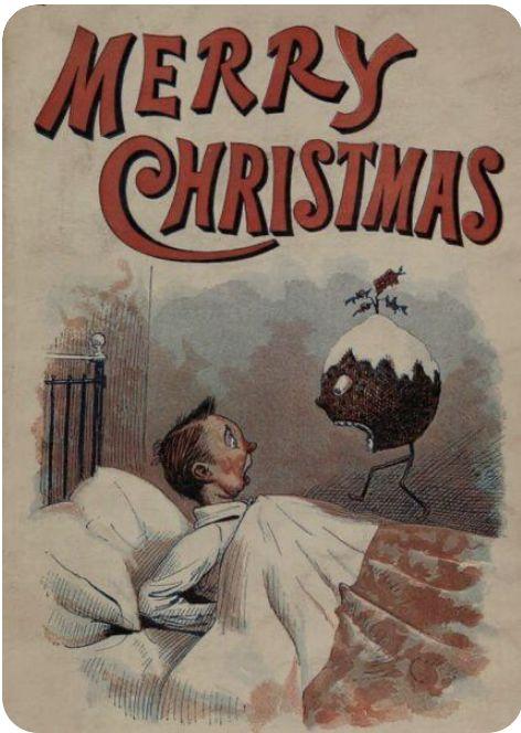 christmas card for evil children