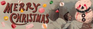 Weird Vintage Christmas Cards